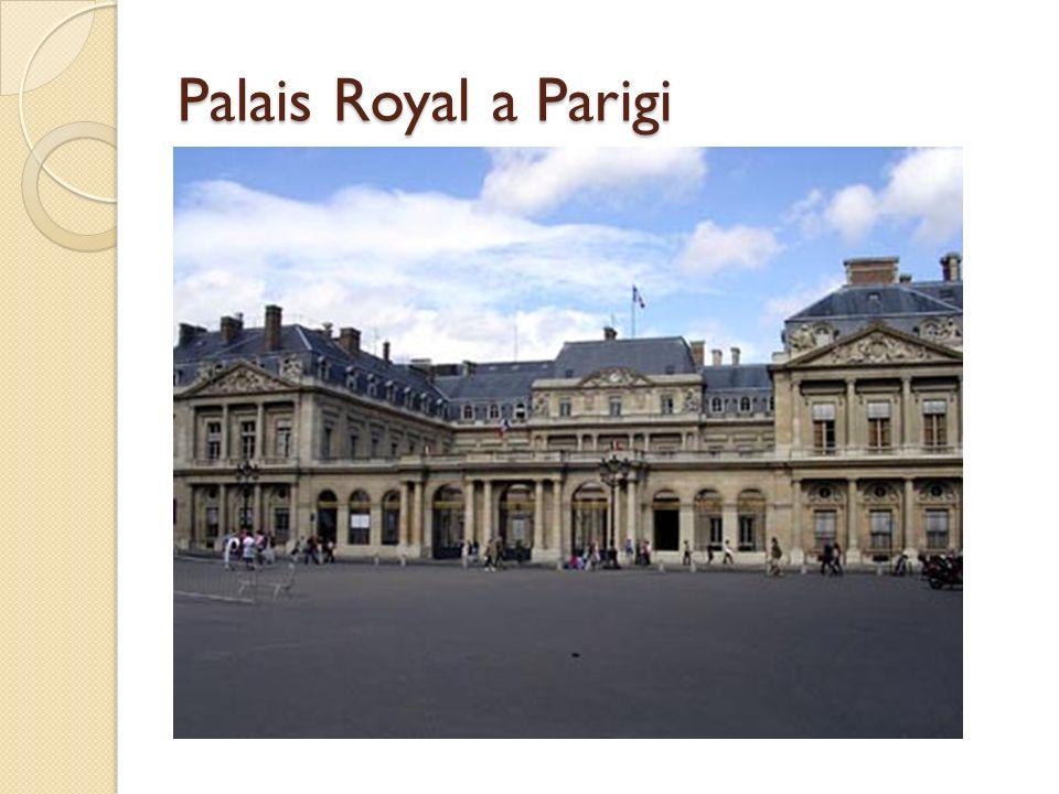 Palais Royal a Parigi