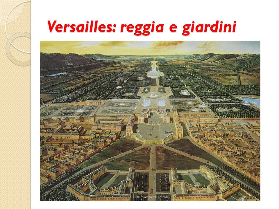 Versailles: reggia e giardini