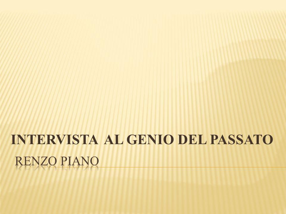 INTERVISTA AL GENIO DEL PASSATO