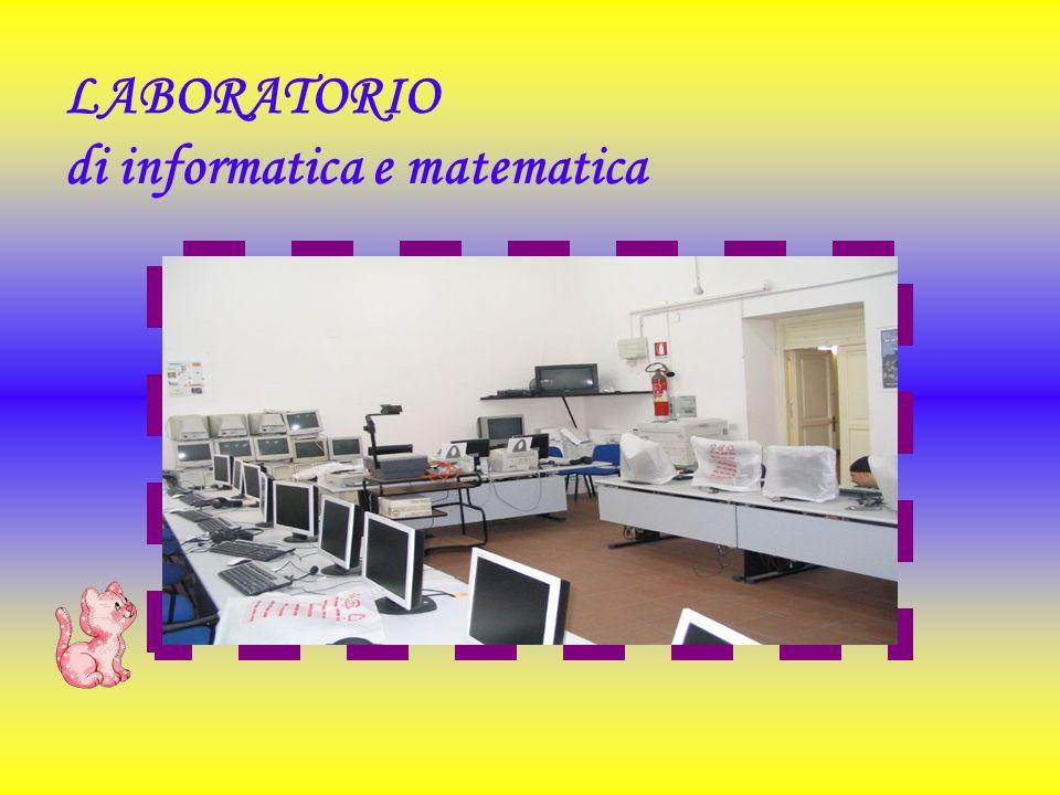 LABORATORIO di informatica e matematica