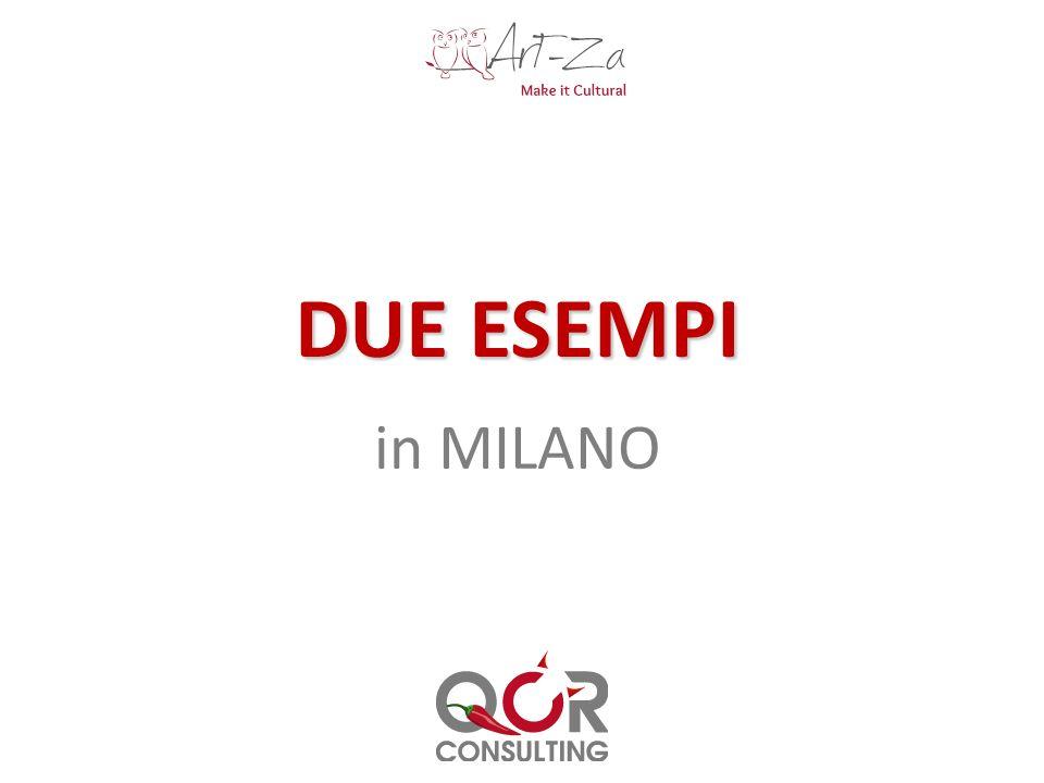 DUE ESEMPI in MILANO