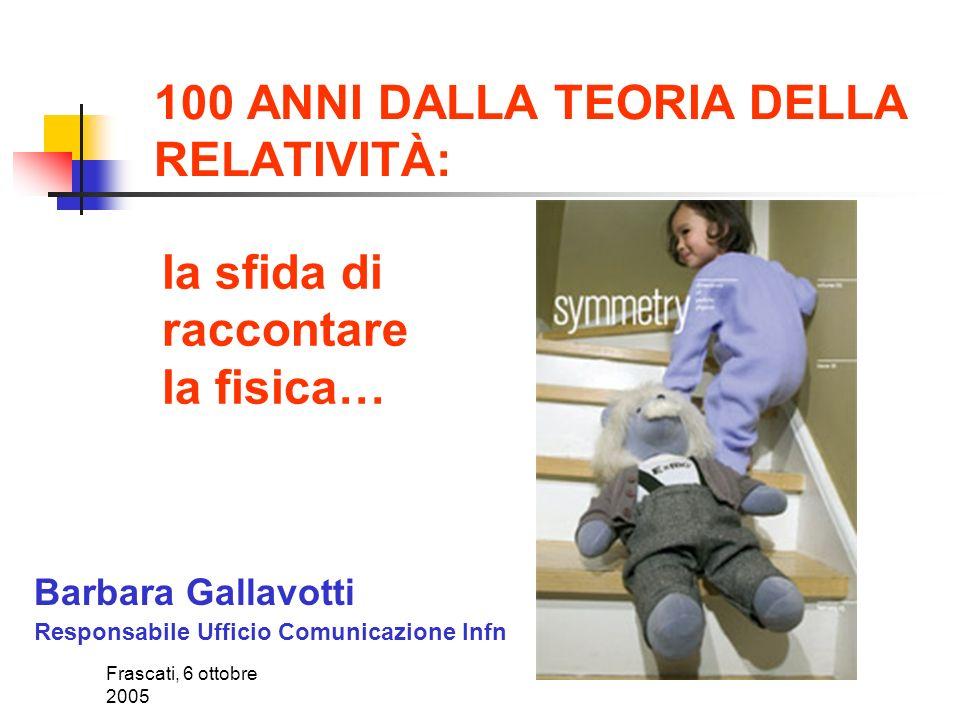 Frascati, 6 ottobre 2005 Il supercalcolo