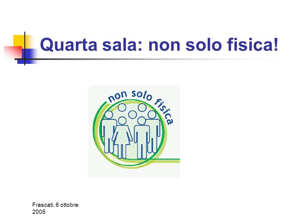 Frascati, 6 ottobre 2005 Virgo