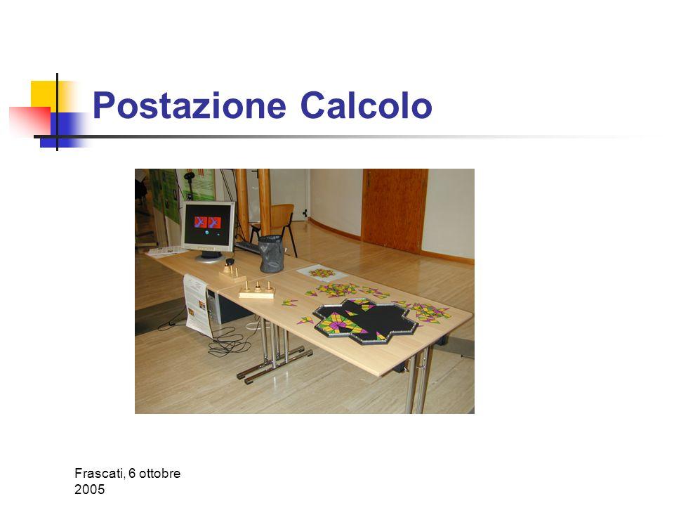 Frascati, 6 ottobre 2005 Postazione Forze