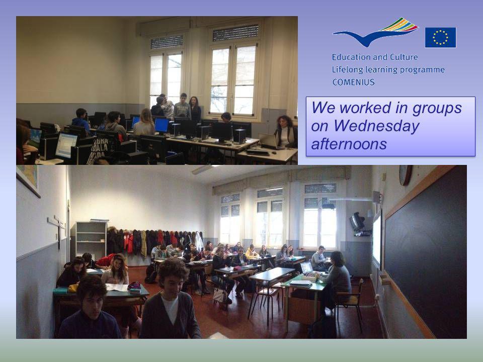 We began with a presentation for the first project meeting We began with a presentation for the first project meeting Farnese Theatre Regio Theatre Giuseppe Verdi Piazza Garibaldi