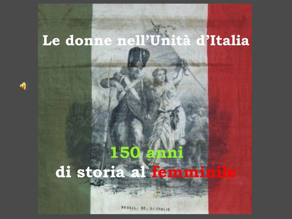 Le donne del Risorgimento prof. Sica Emilia