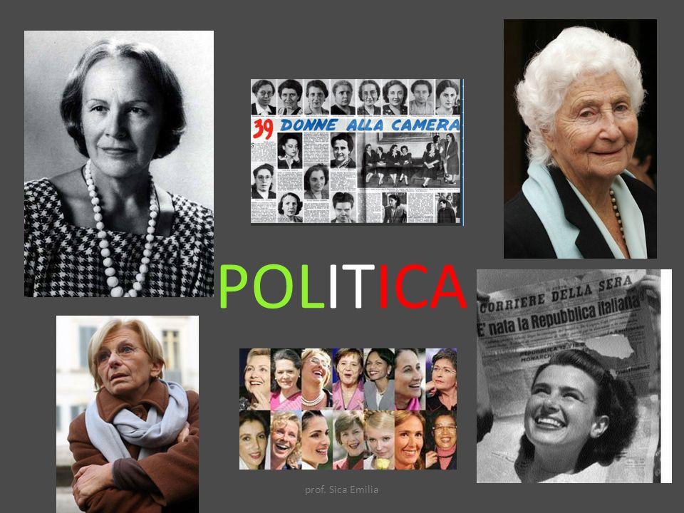 POLITICA prof. Sica Emilia