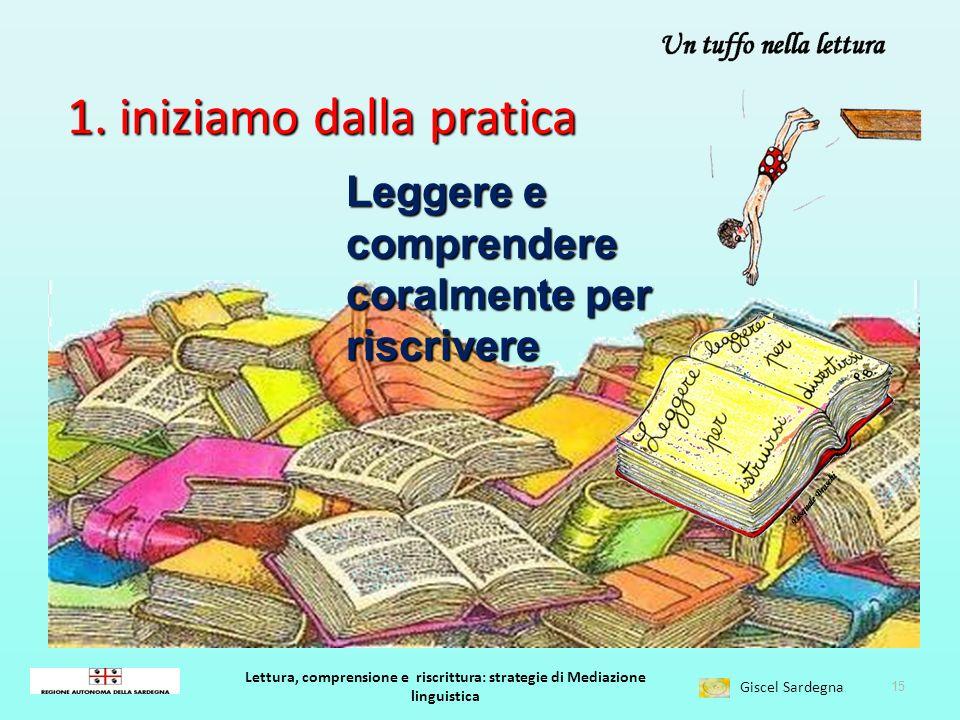 Lettura, comprensione e riscrittura: strategie di Mediazione linguistica Giscel Sardegna ….per una riflessione teorica 14 Jakobson, ovvero tre modi pe