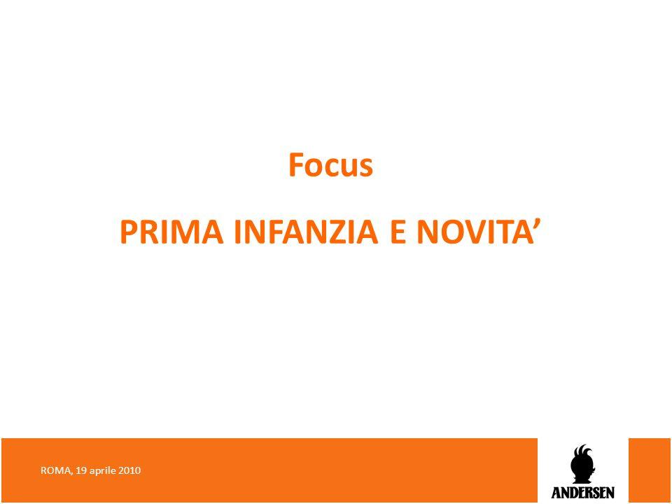 Focus PRIMA INFANZIA E NOVITA ROMA, 19 aprile 2010