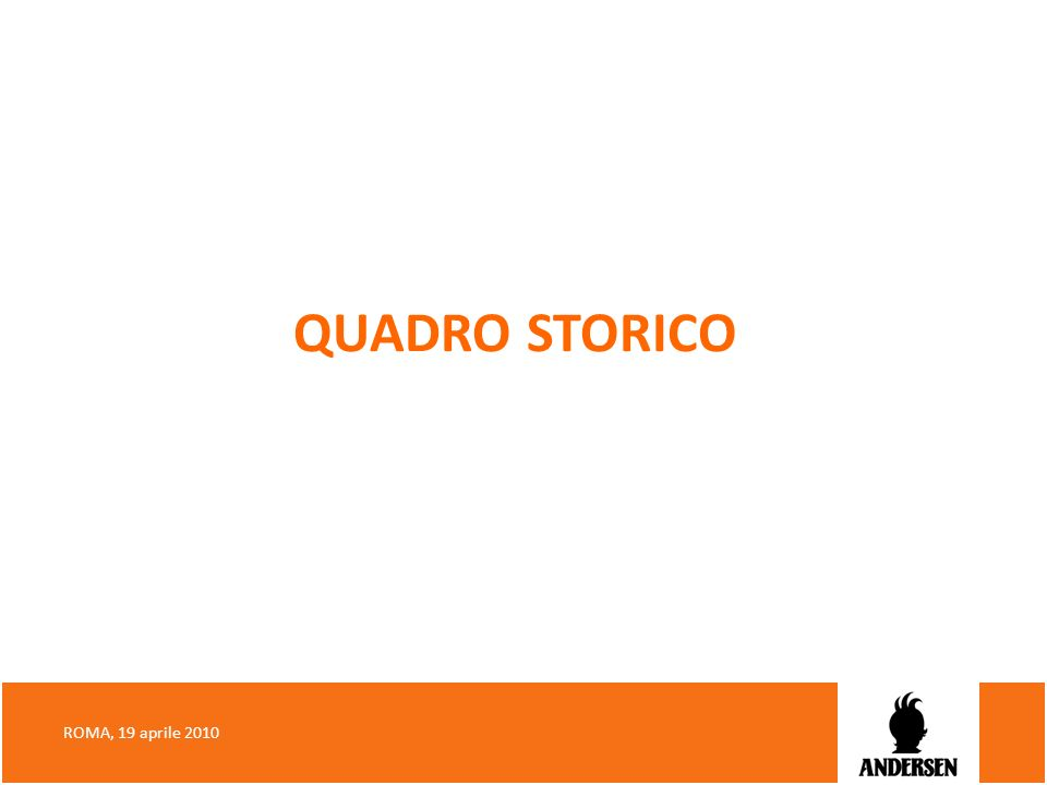 QUADRO STORICO ROMA, 19 aprile 2010