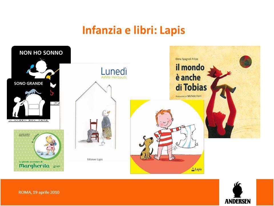 Infanzia e libri: Lapis ROMA, 19 aprile 2010