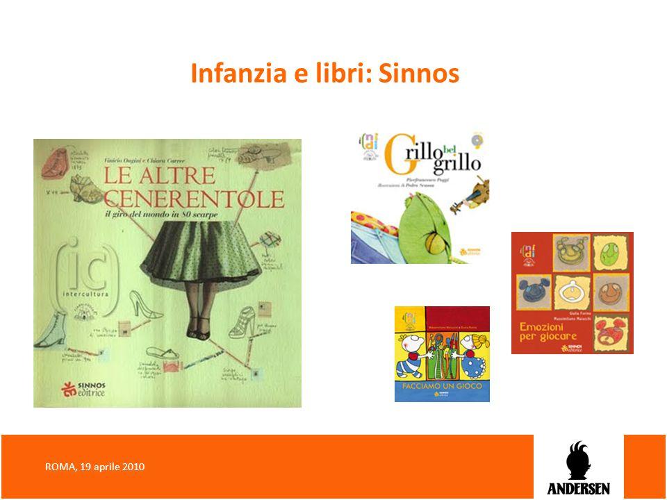 Infanzia e libri: Sinnos ROMA, 19 aprile 2010