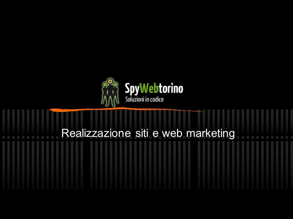 Realizzazione siti e web marketing