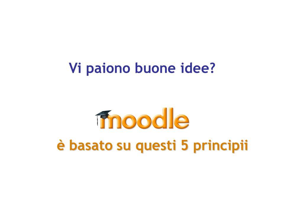 Moodlare (verbo) Moodlare (verbo) – processo divertente e creativo che spesso conduce all aumento di conoscenze, creatività e competenze.