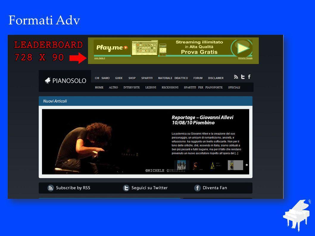 Formati Adv La distribuzione territoriale in Italia