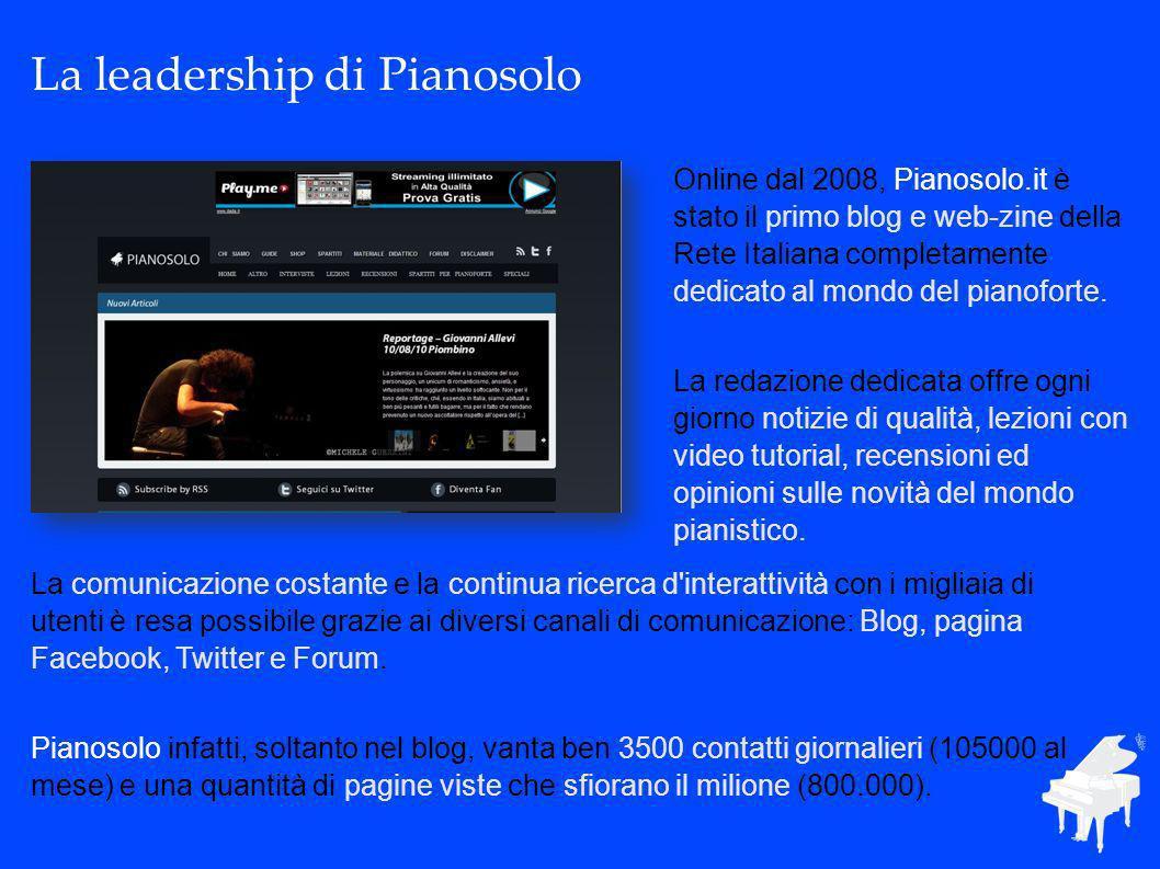 La comunicazione costante e la continua ricerca d interattività con i migliaia di utenti è resa possibile grazie ai diversi canali di comunicazione: Blog, pagina Facebook, Twitter e Forum.
