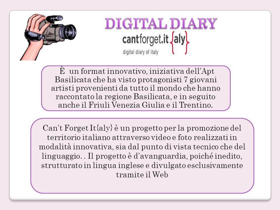 Cant Forget It{aly} è un progetto per la promozione del territorio italiano attraverso video e foto realizzati in modalità innovativa, sia dal punto di vista tecnico che del linguaggio..
