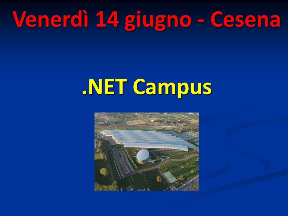 Venerdì 14 giugno - Cesena.NET Campus