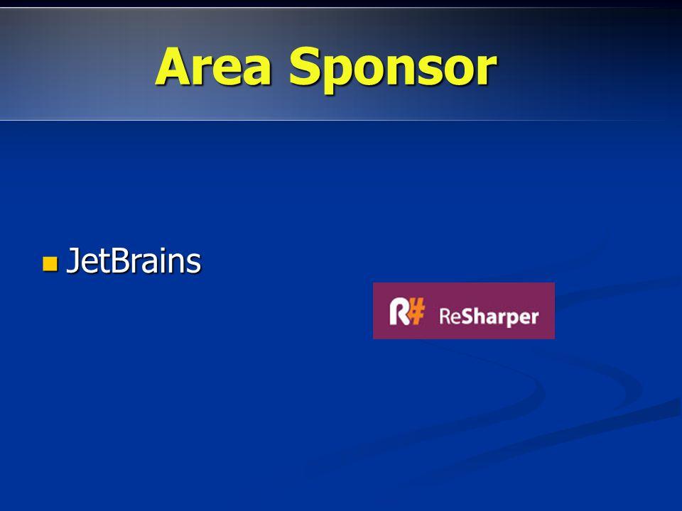 JetBrains JetBrains Area promozioni:http://dotnetmarche.org/forums/23/ShowForum.aspx Area Sponsor