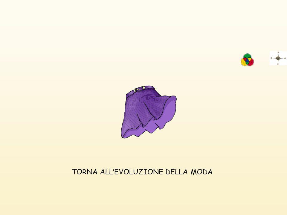 TORNA ALLEVOLUZIONE DELLA MODA