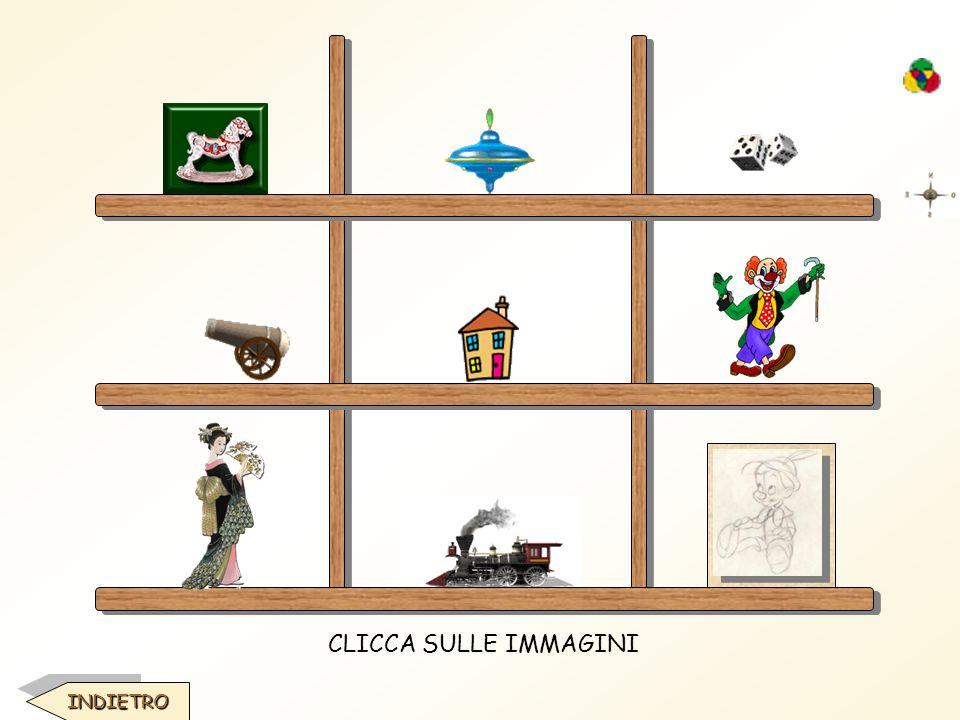 · GIOCATTOLI DI LEGNO Nati in botteghe e figli di artigiani che sbozzavano, levigavano e dipingevano a mano, i giocattoli di legno erano dotati di meccanismi capaci di sfruttare le leggi di contrappesi, equilibri, inerzia, gravità..