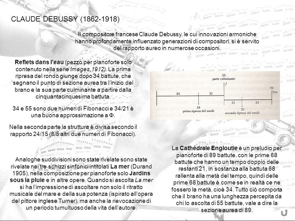 CLAUDE DEBUSSY (1862-1918) Il compositore francese Claude Debussy, le cui innovazioni armoniche hanno profondamente influenzato generazioni di composi