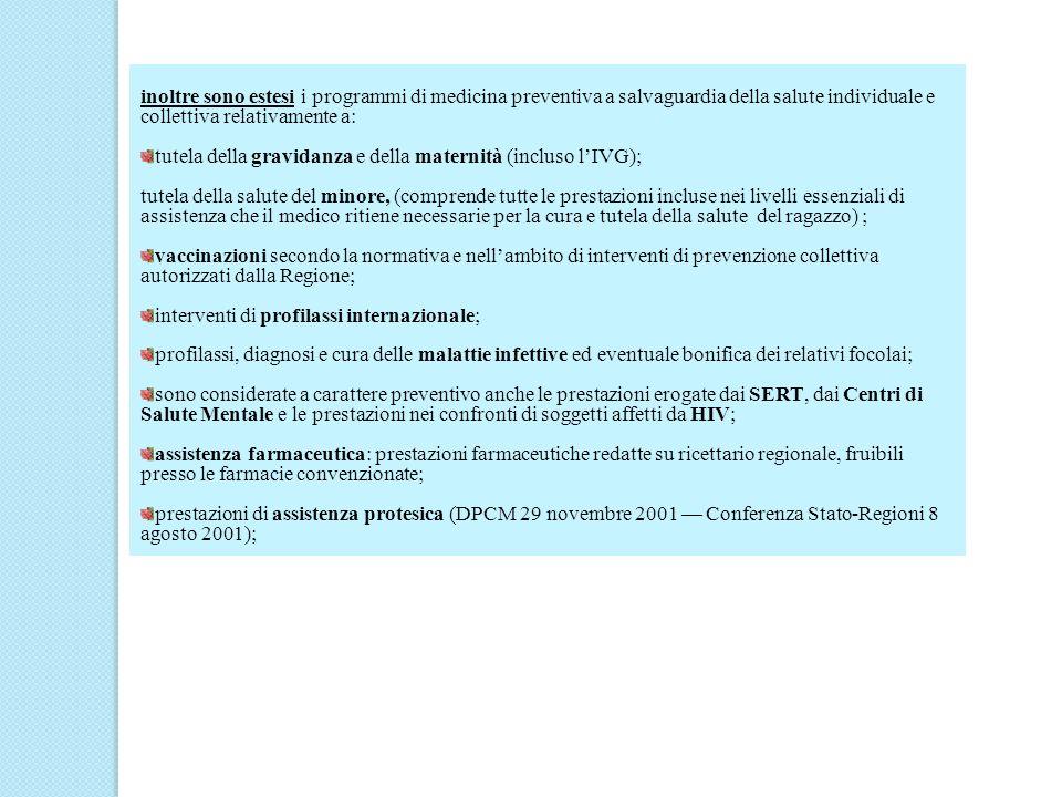 Quote di partecipazione alla spesa (ticket), a) tenere in considerazione, secondo quanto definito nell art.35 del D.Lgs.vo n.286/98 (T.U.), che i migranti non iscritti al servizio sanitario devono pagare le prestazioni secondo le tariffe determinate dalle regioni e province autonome, ma nel contempo, la norma prevede nellart.43 comma 4 del DPR 394/99 che nel caso lo straniero abbia sottoscritto, in sede di prima erogazione dellassistenza, la dichiarazione di indigenza, (titolari STP) le prestazioni devono essere erogate senza oneri, ed a parità di condizione con il cittadino italiano è comunque tenuto a corrispondere le quote di partecipazione alla spesa (ticket), salvo che per le seguenti situazioni trattandosi di prestazioni non soggette ad alcuna partecipazione alla spesa: ricoveri ospedalieri urgenti, prestazioni ambulatoriali urgenti ad accesso diretto; b) per età/condizione anagrafica: anziani ( > di 65 anni) e minori (< di 6 anni) circolare n.
