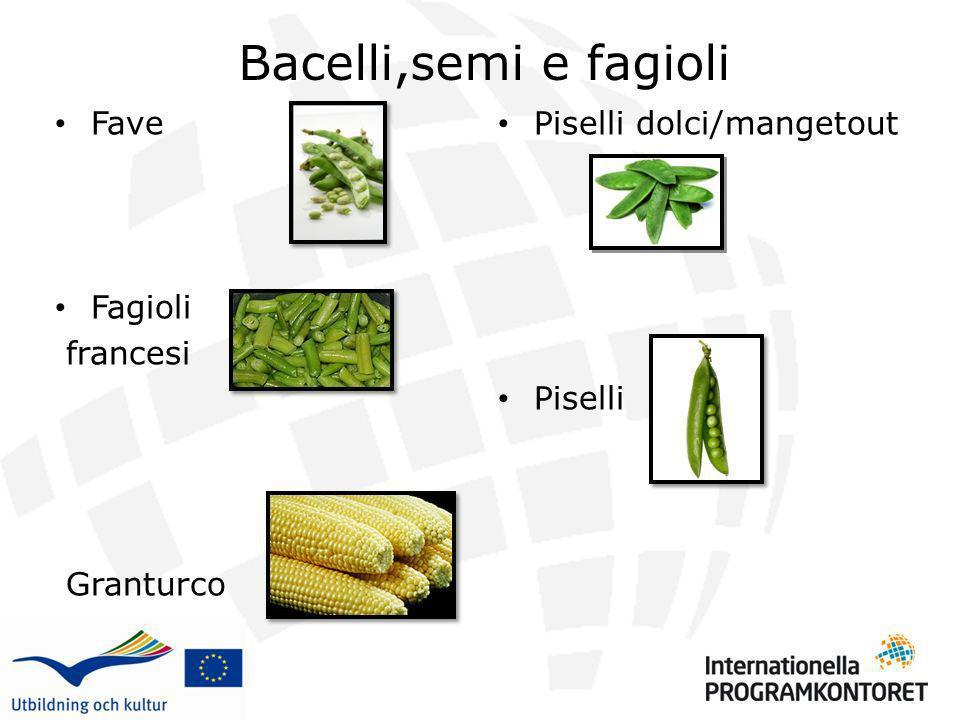 Bacelli,semi e fagioli Fave Fagioli francesi Granturco Piselli dolci/mangetout Piselli