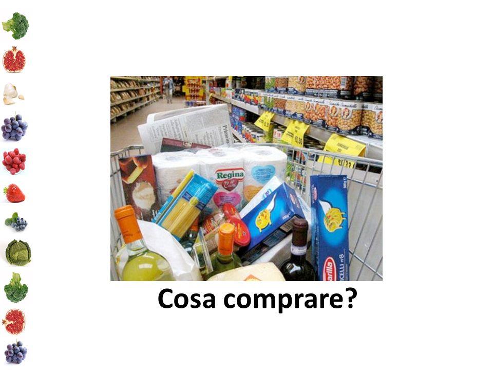 Cosa comprare?