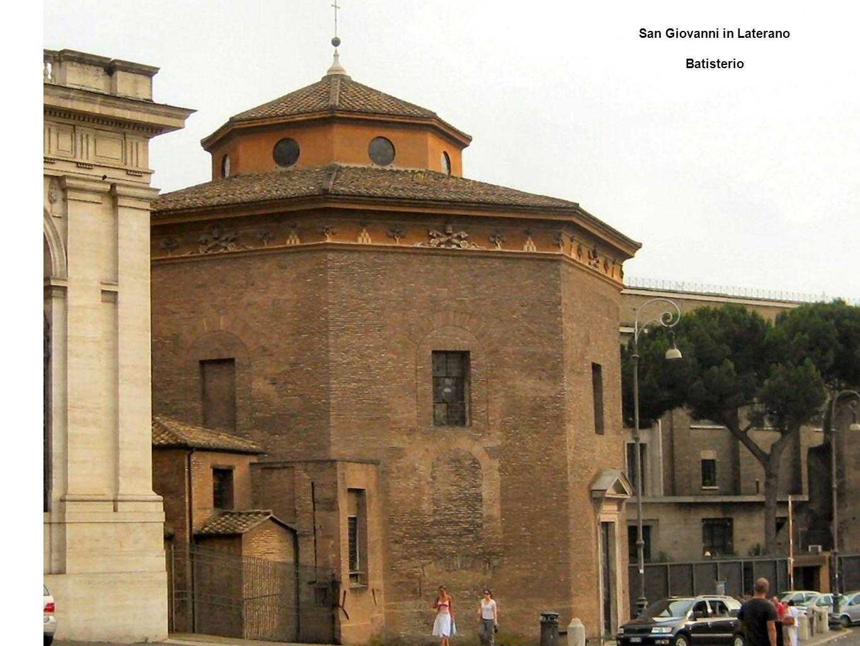 San Giovanni in Laterano Batisterio