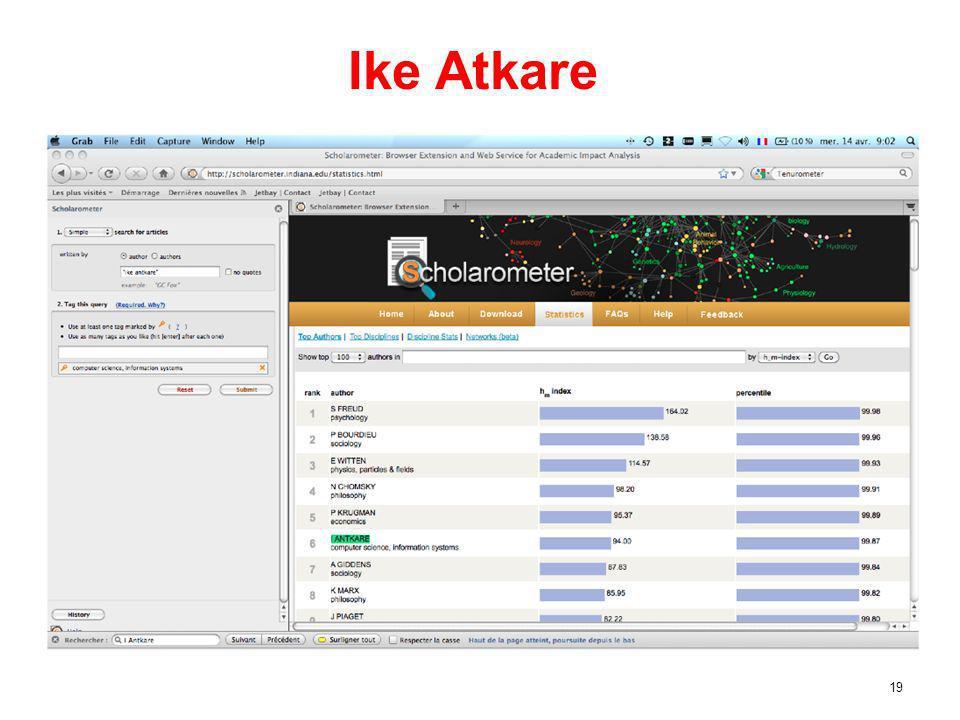 19 Ike Atkare
