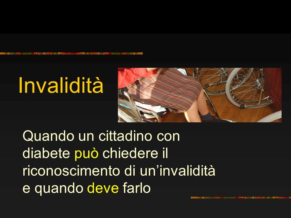 Liter burocratico 1.Presentare domanda di accertamento sanitario dellinvalidità civile 2.