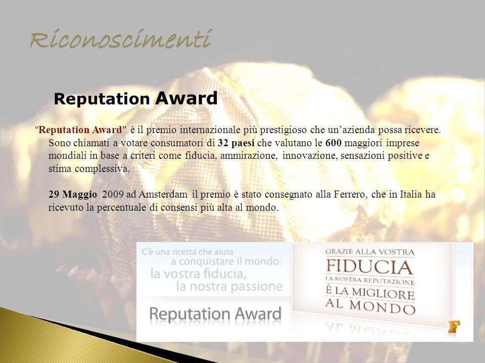 Reputation Award