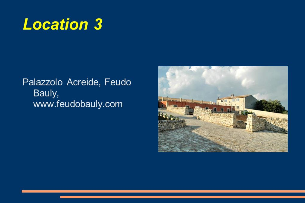 Location 3 Palazzolo Acreide, Feudo Bauly, www.feudobauly.com
