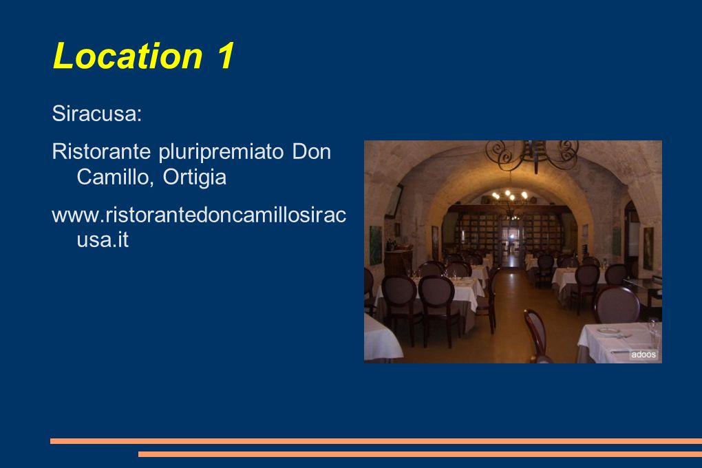 Location 1 Sinagra, Messina www.trattoriaborrello.it Presidio Slow Food