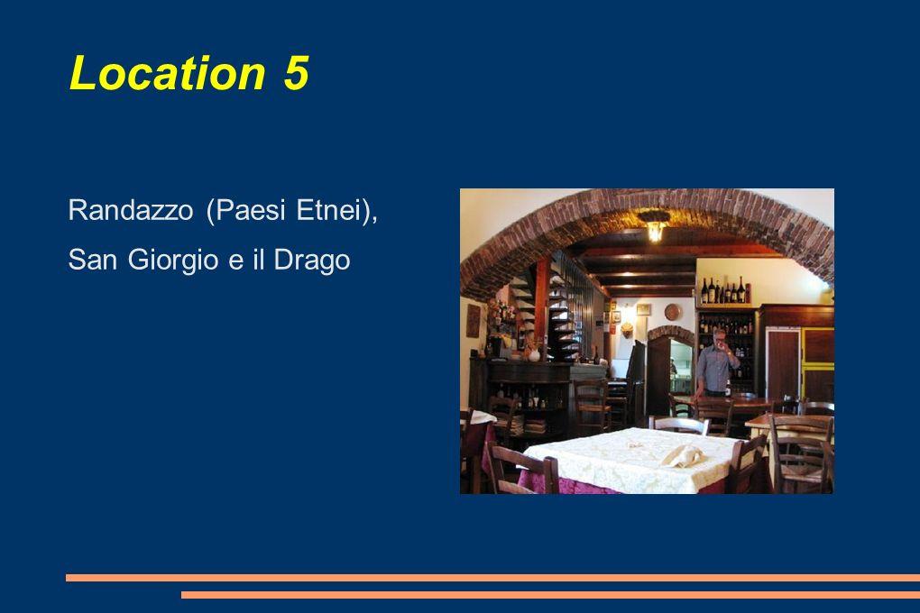 Location 5 Randazzo (Paesi Etnei), San Giorgio e il Drago