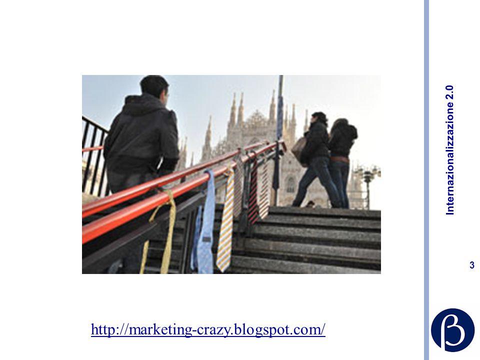 Internazionalizzazione 2.0 23 Consigli pratici Mantenere un arco temporale misto: un occhio a oggi e uno ai prossimi tre anni Continuare a investire in formazione, aumentare la cultura di marketing Non credere di aver bisogno di un reparto marketing per fare marketing