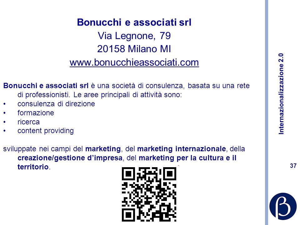 Internazionalizzazione 2.0 36 http://marketing-crazy.blogspot.com/