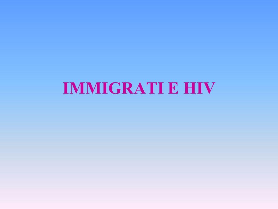 IMMIGRATI E HIV