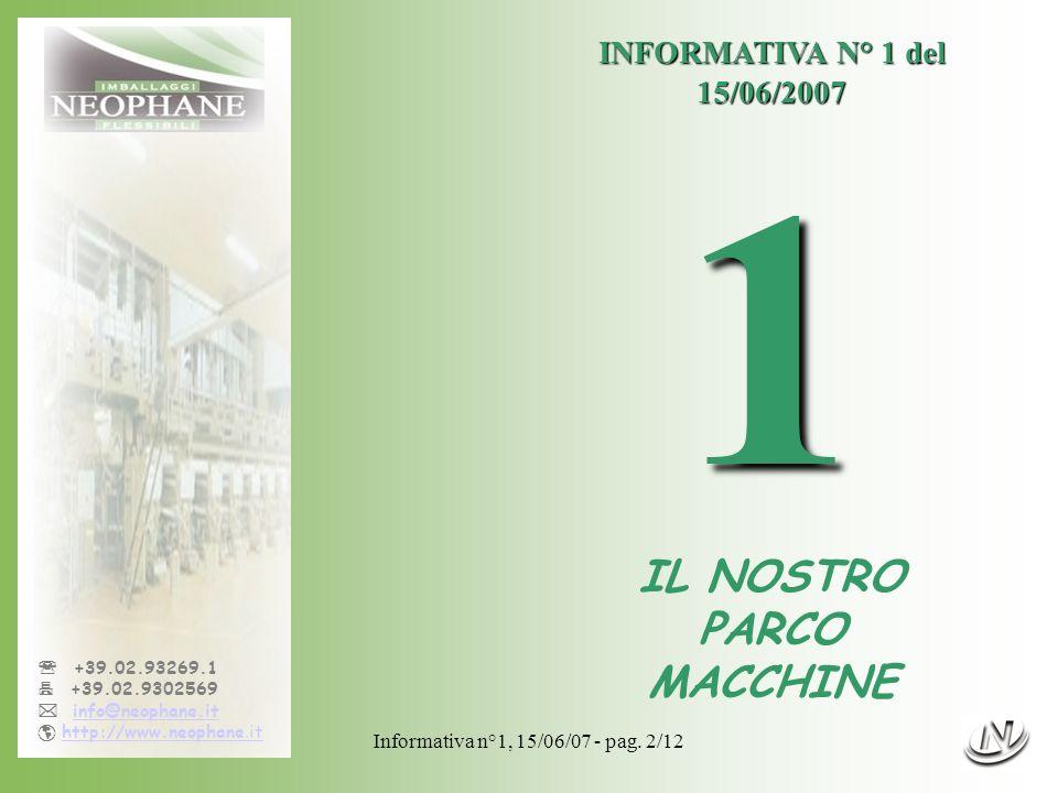 Informativa n°1, 15/06/07 - pag.