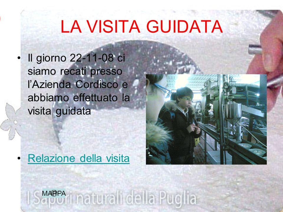 I COLLEGAMENTI CON IL TERRITORIO Lazienda casearia Cordisco è situata in S.Paolo Civitate in provincia di Foggia ed è la prima produttrice su scala in