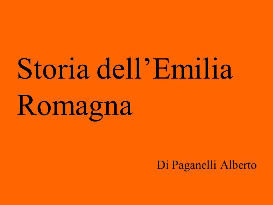 Storia dellEmilia Romagna Di Paganelli Alberto
