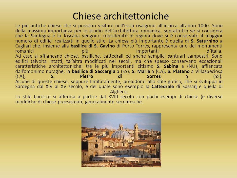 Chiese architettoniche Le più antiche chiese che si possono visitare nellisola risalgono allincirca allanno 1000. Sono della massima importanza per lo