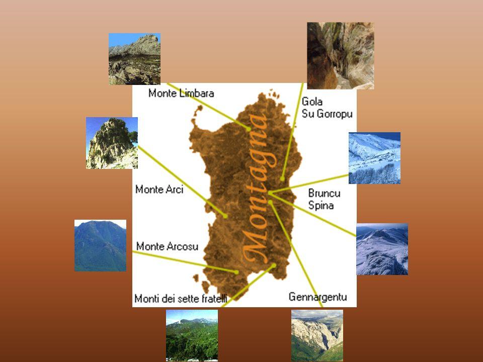 Lentroterra sardo L entroterra della Sardegna offre diversi motivi di visita: a differenti altitudini, numerosi centri abitati hanno come sfondo scenografico le aspre conformazioni delle montagne che rappresentano dei mondi naturalistici e culturali estremamente attraenti.