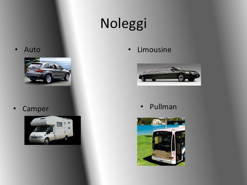 Noleggi Auto Limousine Camper Pullman