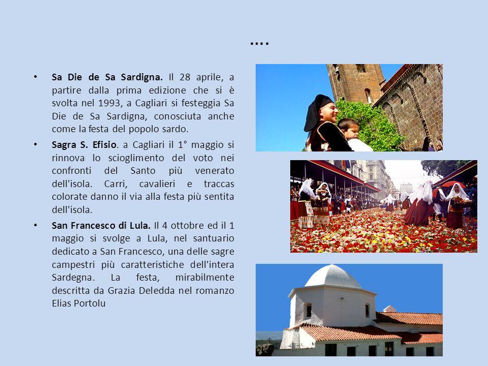 …. Sa Die de Sa Sardigna. Il 28 aprile, a partire dalla prima edizione che si è svolta nel 1993, a Cagliari si festeggia Sa Die de Sa Sardigna, conosc