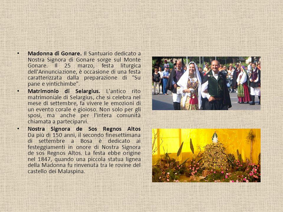 Madonna di Gonare. Il Santuario dedicato a Nostra Signora di Gonare sorge sul Monte Gonare. Il 25 marzo, festa liturgica dell'Annunciazione, è occasio