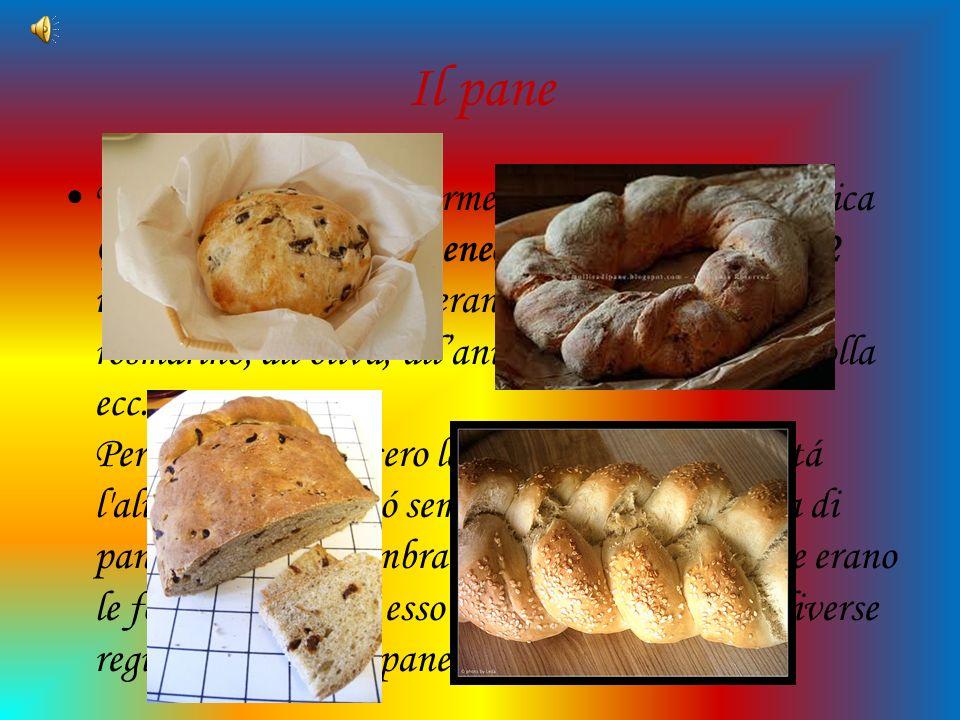 Il pane Tra gli alimenti maggiormente consumati nellantica Grecia cera il pane. Ateneo nei suoi scritti cita 72 nomi di pani: allo zafferano, al finoc