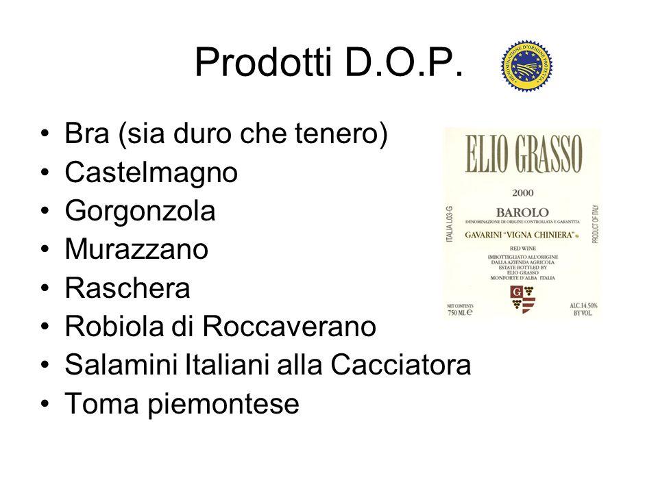 Prodotti D.O.P.