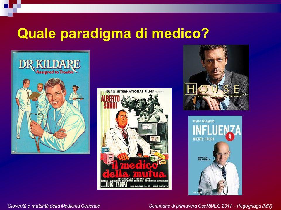 Quale paradigma di medico.